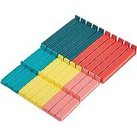 Ikea 0757901195440 Clips, Plastique, Multicolore, 16 x 12 x 3 cm