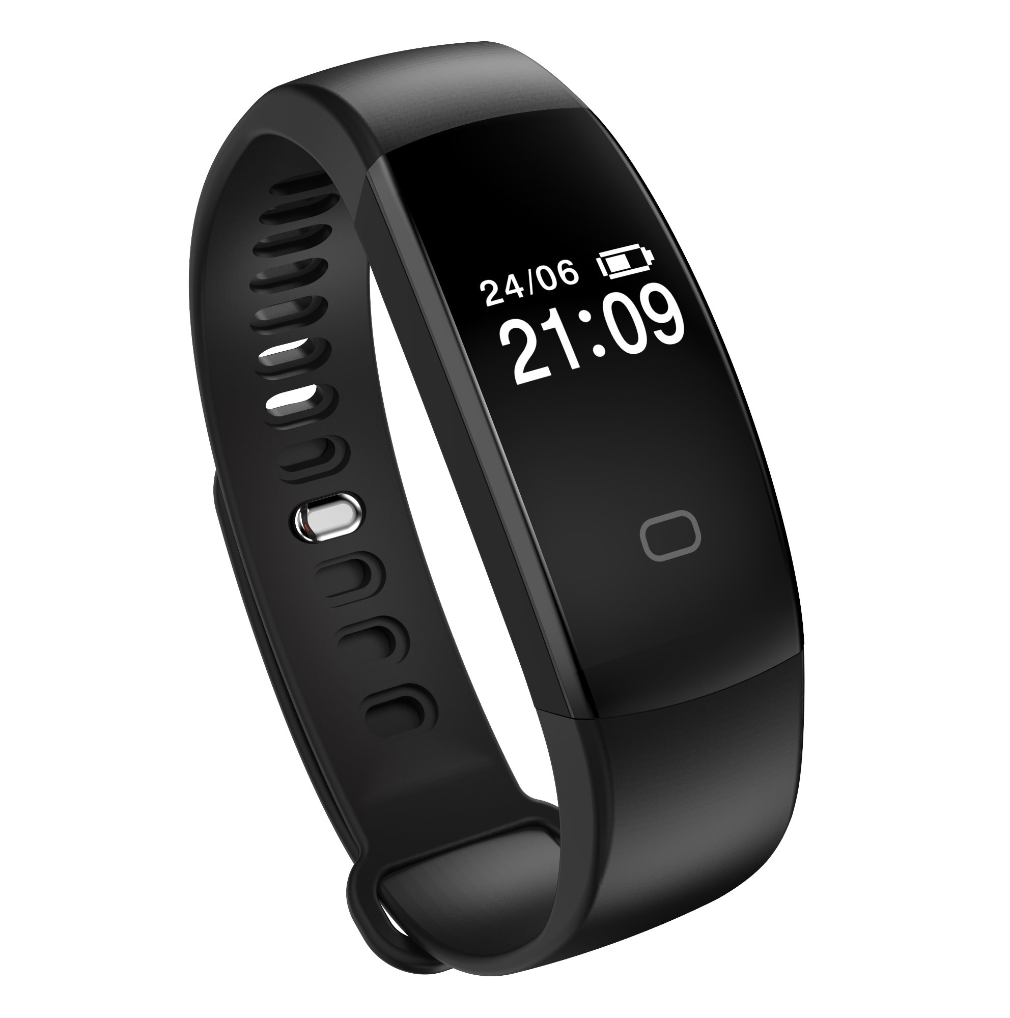 71pLg1u6uiL - Fitness Tracker Heart Rate Monitor Pedometer Smart Bracelet Bluetooth 4.0 Smart Fitness Band and Activity Tracker Smartwatch