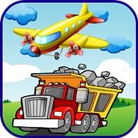Aeroplane & Truck Puzzles Kids
