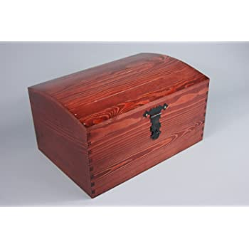 Brynnberg Wooden Pirate Treasure Chest Small Decorative Storage Best Small Decorative Storage Boxes With Lids