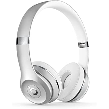 Beats Solo 3 MNEQ2ZM/A Wireless On-Ear Headphones (Silver)