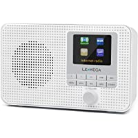 radio digitale DAB+ e FM con RDS,Spotify Connect,Wi-Fi,Bluetooth,ricarica USB,AUX,display a colori,sveglia,telecomando -Nero LEMEGA MSY3 Impianto Compatto con Radio stereo Internet