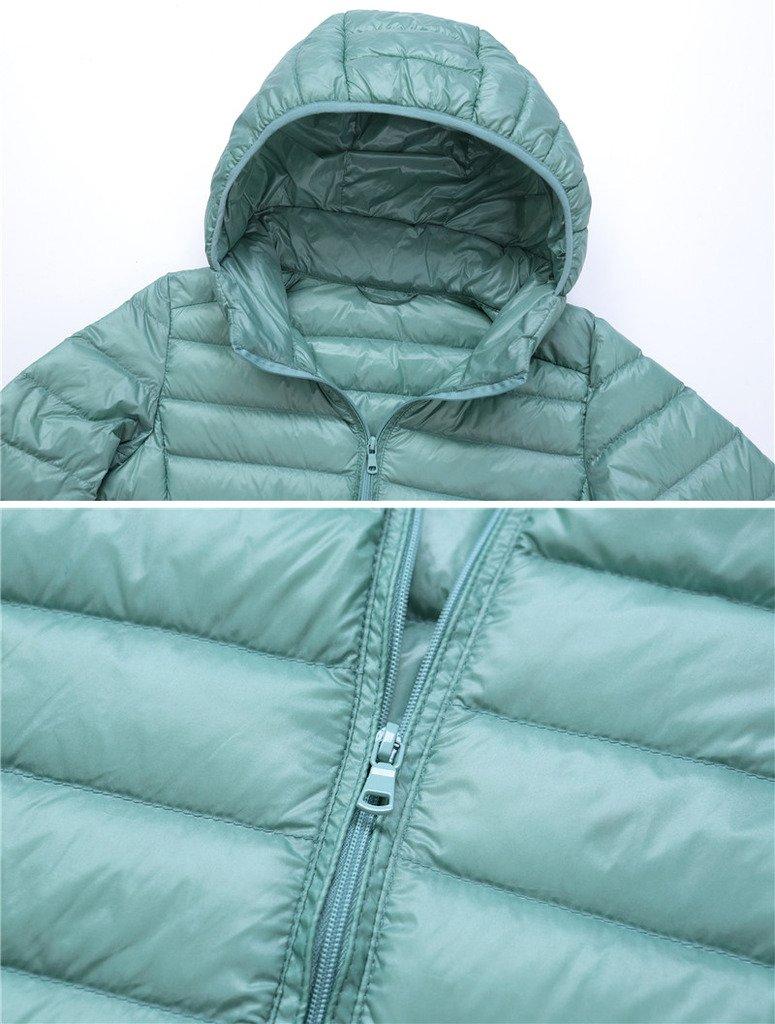 Mochoose Donna Inverno con cappuccio Giù Giubbotto imbottito cappotto Packable ultra leggero 5 spesavip