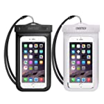 Universal Waterproof Case, CHOETECH 2Pack Clear Transparent Cellphone Waterproof with Neck Strap Compatible with iPhone...