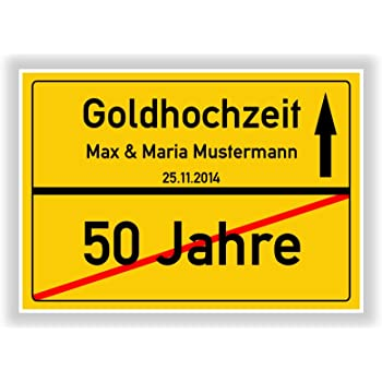 Amazon De Geschenkidee Zur Goldhochzeit 50 Jahre Verheiratet