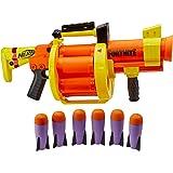 Nerf Fortnite Gl-Raketblaster - Trommel Voor 6 Raketten, Pompactie - Met 6 Officiële Nerf-Raketten - Voor Kinderen, Tieners E