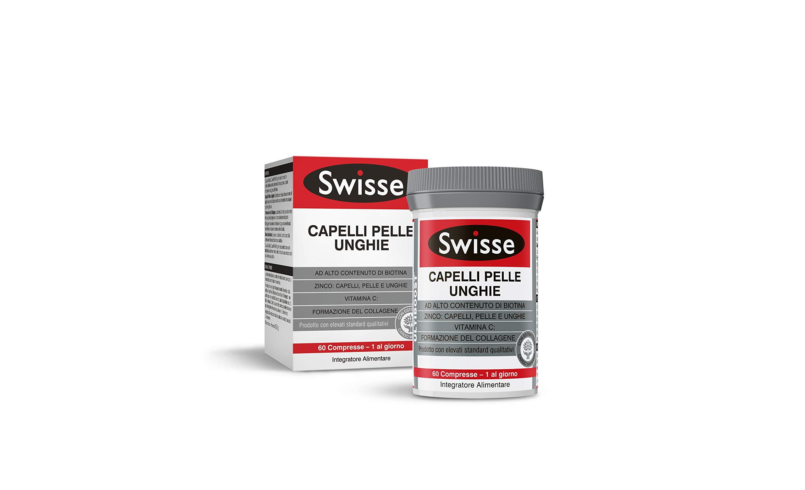 Swisse ultiboost Integratore Capelli Pelle Unghie