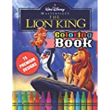 The Lion King Coloring Book: Great Coloring Book For Kids and Adults - The Lion King Coloring Book With High Quality Images F