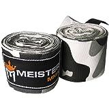 Meister 180 tum elastisk bomull handlinda för MMA och boxning (par)