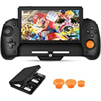 Zacro Controller for N-Switch, Dual Motor Vibration Switch Controller Six-axis Gravity Sensor, Comfortable & Ergonomic…