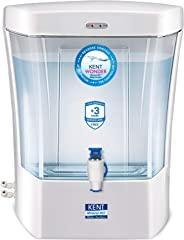 KENT Wonder 7-Litres Wall-mounted / Counter-top RO Water Purifier,Peal White