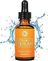 Das beste Vitamin C Serum für Ihr Gesicht mit 20% Vitamin C + Hyaluronsäure + Vitamin E + Jojobaöl. Natürliche AntiAging...