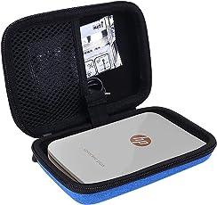 Borsa Custodia Rigida per HP Sprocket Plus Stampante Fotografica Istantanea Portatile per 5.8 x 8.7 Zink Autoadesiva di Aenllosi