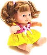 FunBlast Beautiful Doll Set for Kids, Baby Dolls for Girls | Realistic Cute Doll Toy for Babies,Girls,Kids (Random Color)