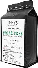 Jimmys Gourmet Kitchen Sugarfree Muesli Sugar Free Vegan Gluten Free 350gms