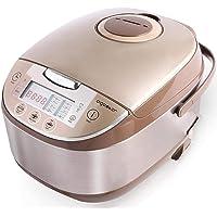 Aigostar Golden Lion 30HGY - Cuiseur riz, Multicuiseur sans BPA, 11 fonctions programmables sur grand écran LED, 5…
