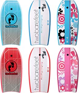 EVA Core Includes Wrist//Ankle Strap Two Bare Feet 42 106cm Slick Board Bodyboard XPE