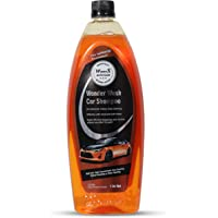 Wavex® Wonder Wash Car Shampoo (1L) pH Neutral Formula For Safe, Spot Free Cleaning - Honey Thick, Luxurious Suds That…
