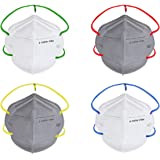 Nasher Miles N95 5 layer Color Face Mask, Reusable and Washable, Head Strapped, SITRA/CE/ISO Approved, Anti Pollution, Anti-D