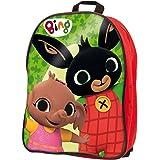 Liscianigiochi- Bing Zainetto Costruzioni Baby Gioco per Bambini, Colore Rosso, size#1.value, 76611