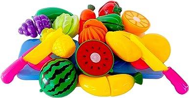 Kesilebilen 28 Parça Kesme Tahtalı Oyuncak Sebze ve Meyve Seti
