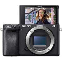 Sony Alpha 6400 | APS-C Spiegellose Kamera ( Schneller 0,02s Autofokus, 24,2 Megapixel, 4K-Filmaufnahmen, neigares…