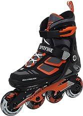 Rollerblade Spitfire LX ALU Inline Skate 2018 Black/orange