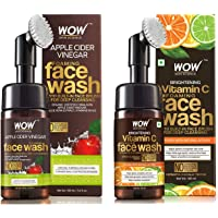 WOW Skin Science Apple Cider Vinegar Foaming No Parabens, Sulphate & Silicones Skin Science Brightening Vitamin C…
