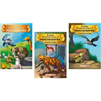 Panchatantra Tales (Illustrated) (Set of 3 Books with 53 Moral Stories) - Panchatantra Tales, Panchatantra Wisdom Stories, Panchatantra Friendship Stories