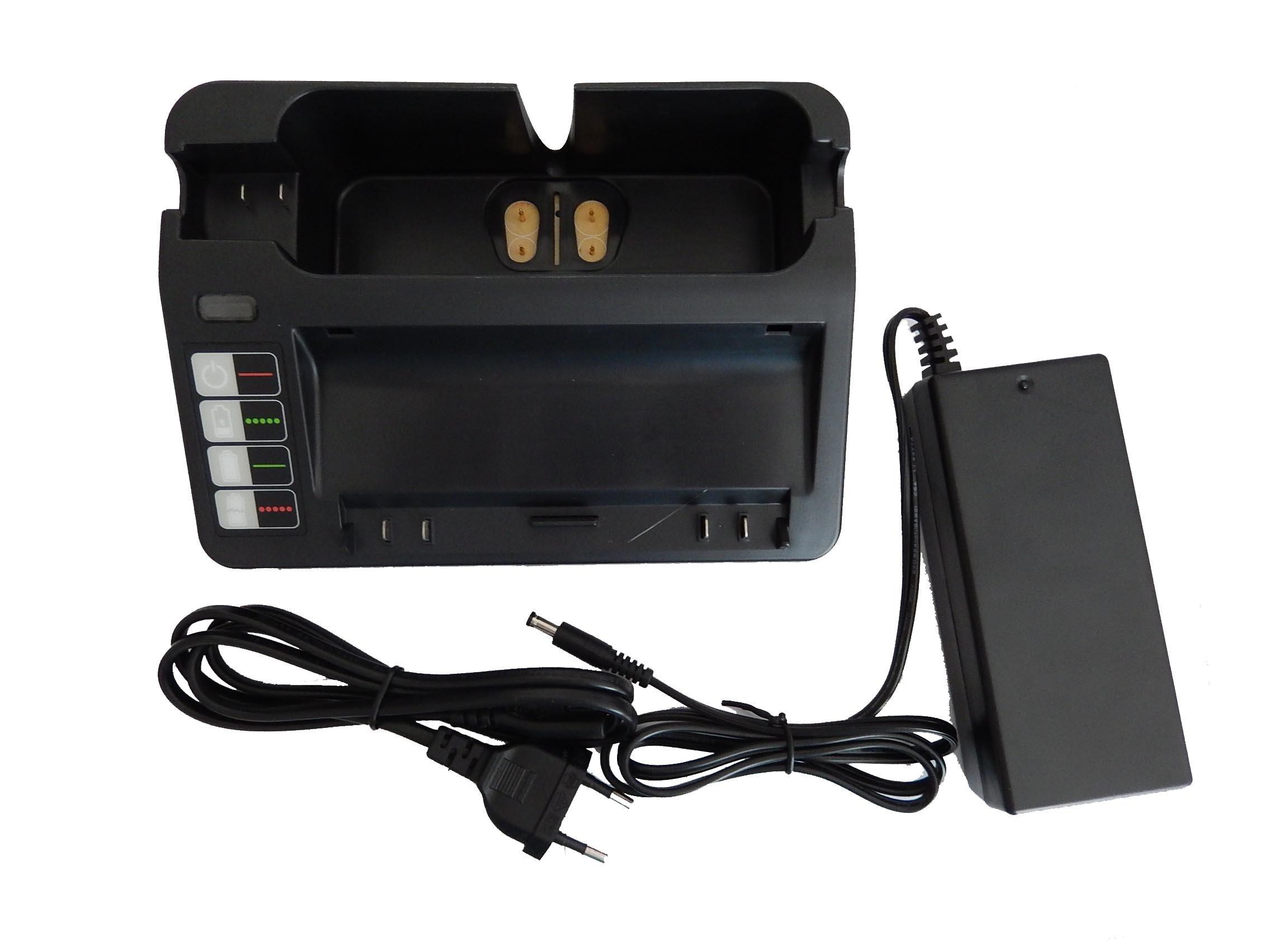 Caricabatterie vhbw 220V per Ryobi sostituisce iRobot Roomba 4230, 4232, Discovery 400