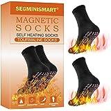 Calzini Magnetici,Calze Autoriscaldanti,Calzini Riscaldati,Calzini di Terapia Magnetica,Tormalina Auto-Riscaldamento Terapia