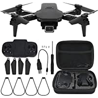 Foldable GPS Drones,Mini Folding Drone with 4K Camera 2.4GHz Frequency for Adults WiFi FPV Altitude Hold Quadcopter…