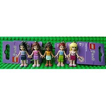 Lego Friends Keyringkeychain 5 Pack Andreamiaemmaolivia