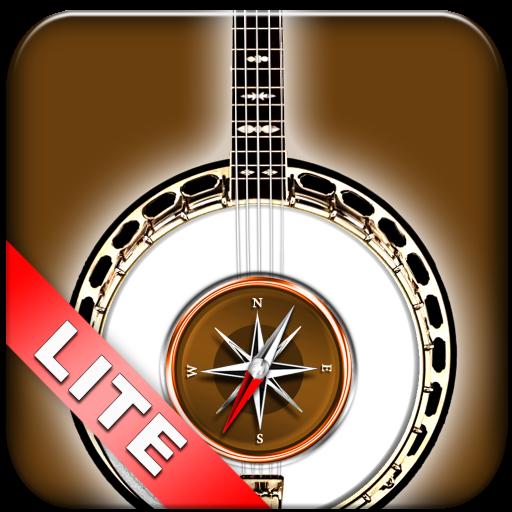 Kompass der Akkorde für das Banjo Lite