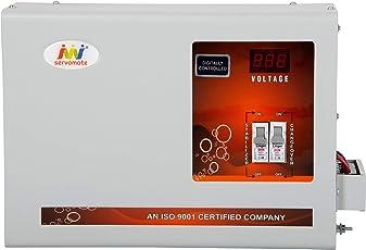 Servomate 5 KVA Mainline Stabilizer (90v-300v) Single Phase 100% Copper