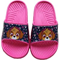 laubamode Nickelodeon-Belle Claquettes Mules Pat Patrouille-Rose-Fille