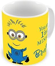 illuminati gifts Ceramic Printed Coffee Mug (Multicolour, 325ml)