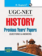 UGC-NET: History Previous Years' Papers (Solved) (Paper I, II & III)