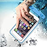 VENIQE Universal Waterproof Pouch Cellphone Dry Bag Case for iPhone Xs Max XR XS X 8 7 6S 6 Plus, Samsung Galaxy S9 S8…