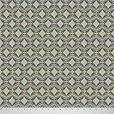 Soimoi Stammes- Druck 44 Zoll Breit Dekorative Reine Seide