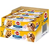Pedigree DentaStix 2x Wöchentlich Hundeleckerli, Kausnack mit Huhn- und Rindgeschmack gegen Zahnsteinbildung für gesunde Zähne, verschiedene Größen