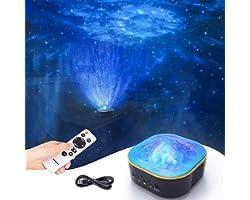 Colorsmoon Galaxie Projecteur LED ciel étoilé avec fonction minuteur et télécommande, projecteur d'étoiles pour bébé/enfant/s