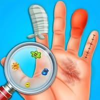 Finger Surgery ER Emergency : Doctor & ICU Game