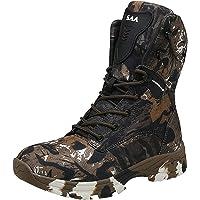 Doubjoy Botte de Chasse pour Homme, Botte de randonnée en Plein air Respirante Bottes de Camouflage Bottes Tactiques Q3…