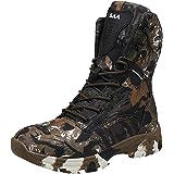 Doubjoy Scarpone da caccia per uomo, scarponcino da trekking traspirante a metà altezza Stivali mimetici Stivali tattici Q3 S