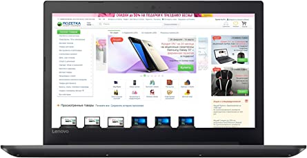 LENOVO IDEAPAD 320- 80XH01YUIN (CORE-I3 /4GB/1TB/15.6 FHD/DOS/ INTEGRATED GRAPHIC) ONYX BLACK