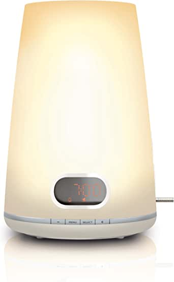 Philips HF3471/01 Wake Up Light inklusiv Dämmerungsfunktion