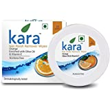 Kara Wipes Nail Polish Remover With Vitamin Removes Nail Polish, Orange (30 Pulls) x (Pack Of 2)