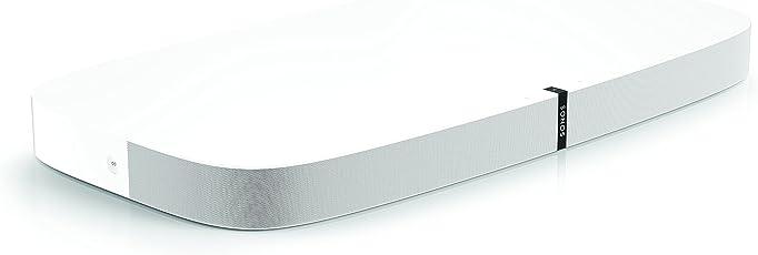 Sonos Playbase WLAN-Soundbase (für Heimkino und Musikstreaming, WLAN, AirPlay) weiß