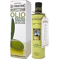 Le Fascine Olio Extravergine di Oliva Pugliese 100 % Italiano Prodotto da Olive Provenzale (Bottiglia da 500 Ml)